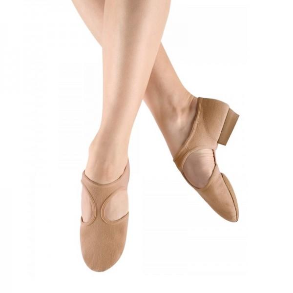 Griechische Sandale aus Stretch-Leinen