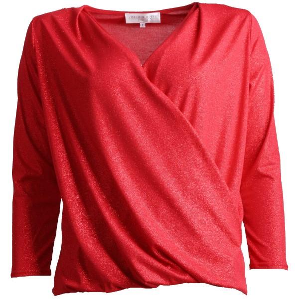 Shirt POP Langarm Glitzer