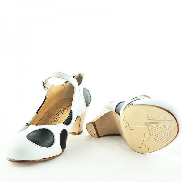 Swing Shoe LUNARES Box Blanco