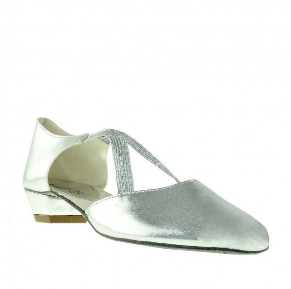 Greek Sandal X-STRAP Silber