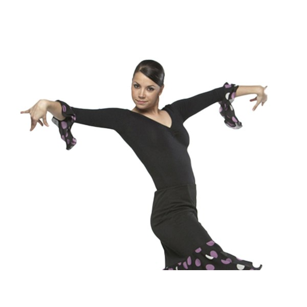 Flamenco Body mit Doppelrüsche