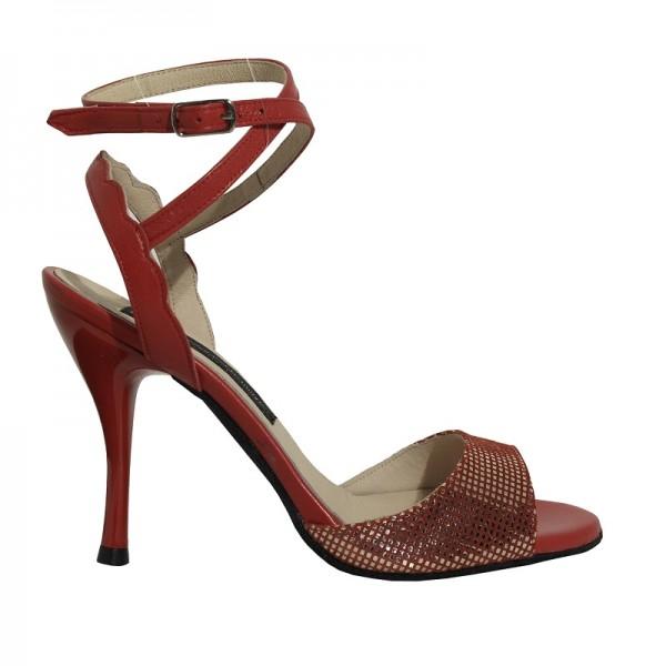 AZUCENA Rojo-Argento-Rojo