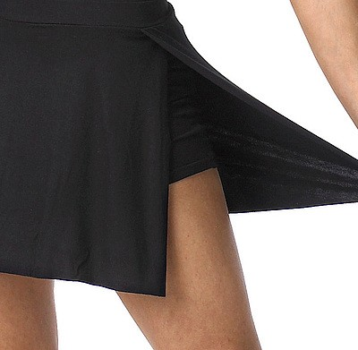 Skirt with integrated shorts VISON