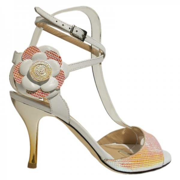 Tangoschuh FLORCITO SOMMER - 80 mm