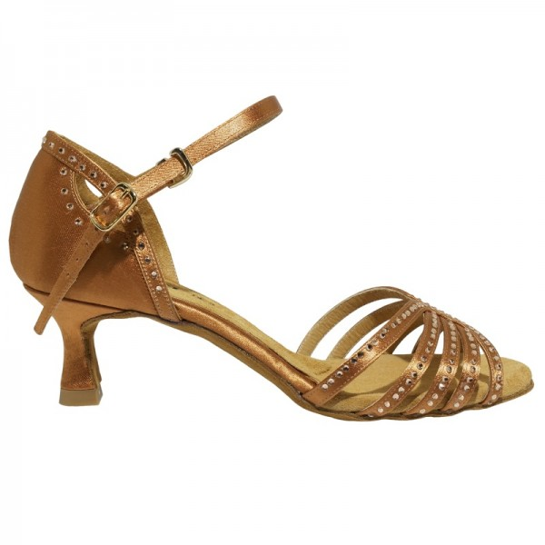 Strass Sandale 1541 Tan
