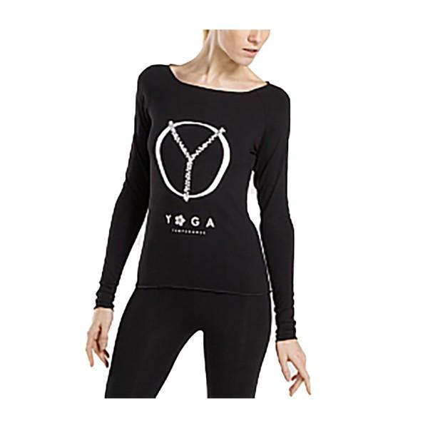 Longsleeve Yoga Top AMAN PEACE