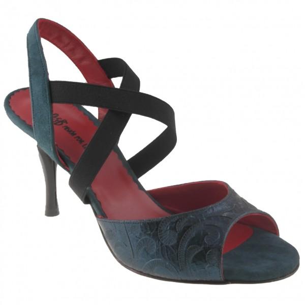 Tango shoe LA TANA ROSSO - wider plattform