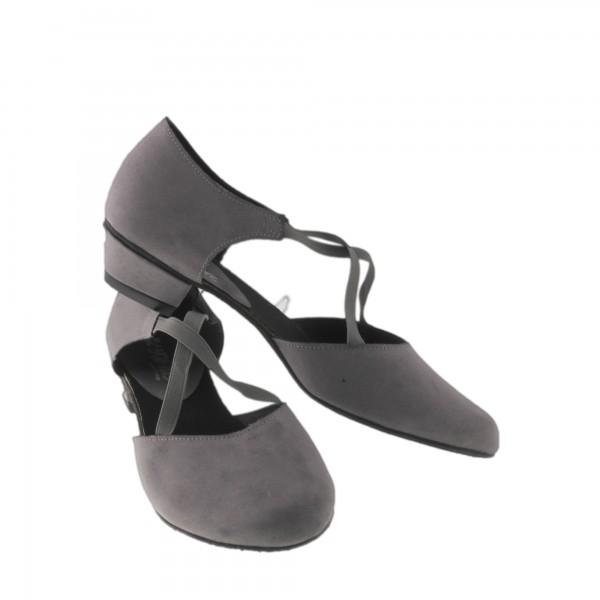 Greek Sandal X-STRAP Mikrofaser Grau