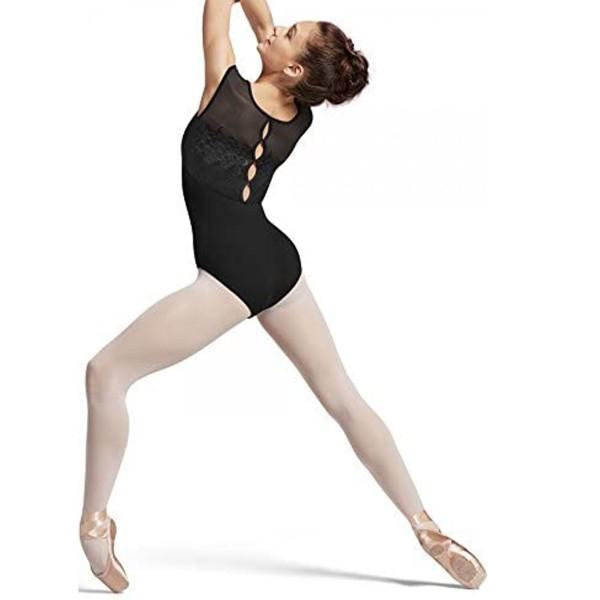 Ärmelloses Ballett Trikot FLORAL BACK WATERLILLY