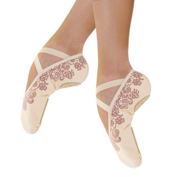 Ballettschläppchen TEMPO FLEUR DE BALLET