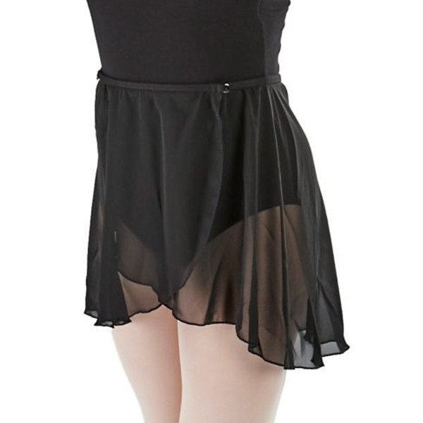 Chiffon Skirt with Button CAD800