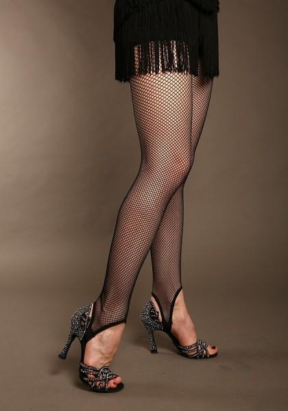 Netz-Legging mit Steg
