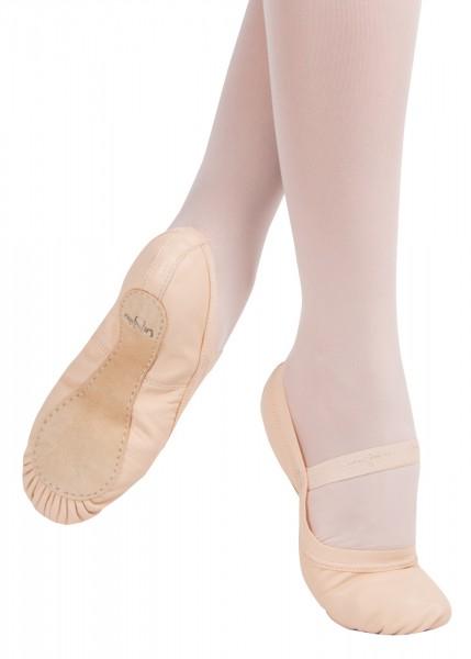 Kinder Ballettschläppchen Ganze Sohle LITTLE STAR