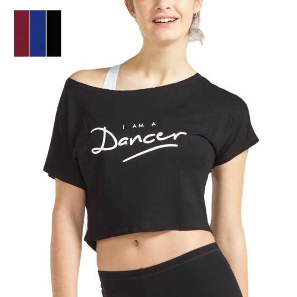 Crop Top AGILE - I AM A DANCER