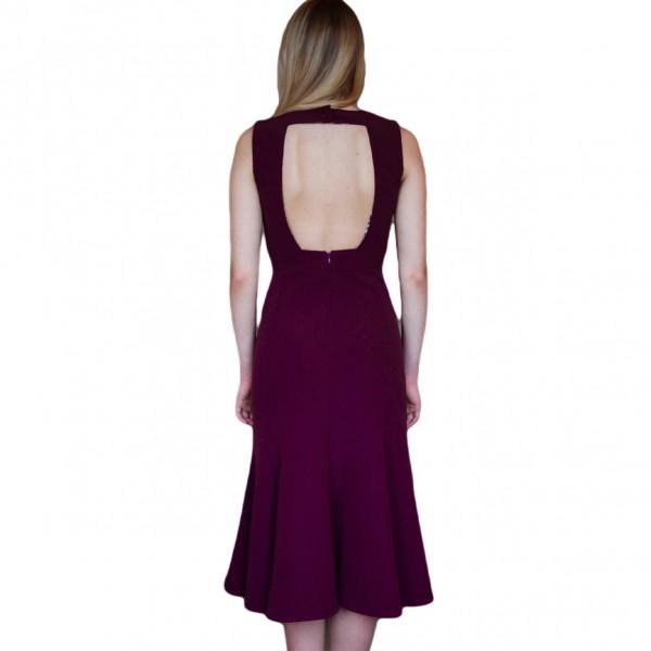 Kleid MARIA DE BUENOS AIRES BURGUNDY