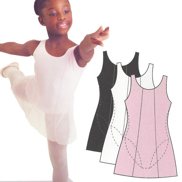 Ballet Leotard with Overdress