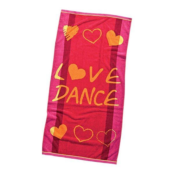 Beach towel LOVE DANCE